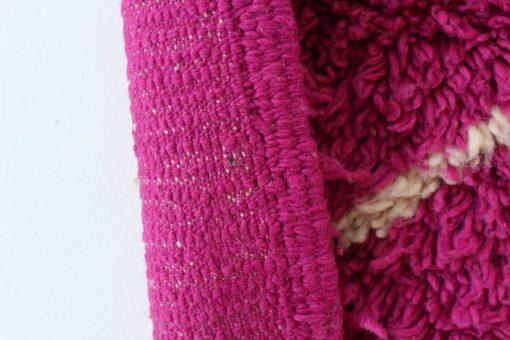 2×6 AkliBeni ourain rug | pink | minimalist rug | area rug | berber rug | teppich | geometric rugs | Moroccan rug | Pink rug