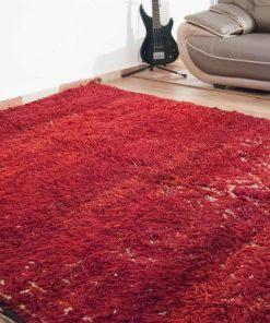 Moroccan rug 6'x10′ Vintage Beni Mguild rug, The Genuine Moroccan rug.