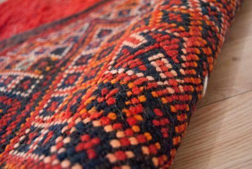 Moroccan rug 5'x9′ Vintage Beni Mguild rug, The Genuine Moroccan rug.
