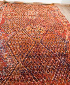 Moroccan rug 6'x11′ Vintage Beni Mguild rug, The Genuine Moroccan rug.