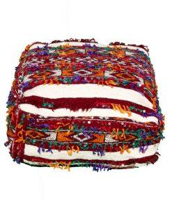 moroccan pouf handmade handira pouf